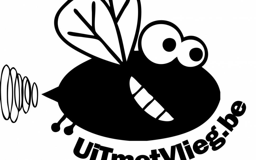 Logo Uit met vlieg